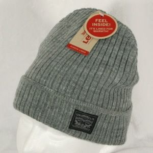 Levi's Fleece-Lined Winter Beanie Hat
